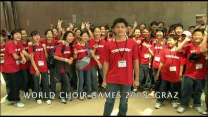 World Choir Games 2008 – Greetings from China