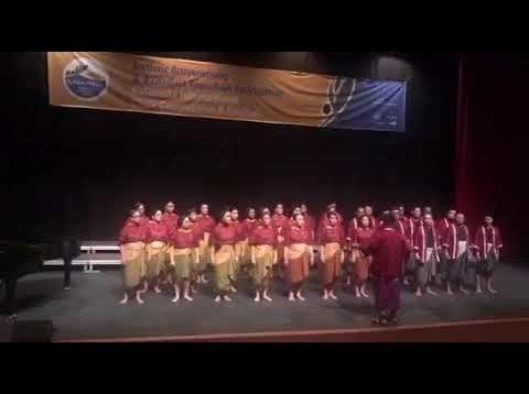 Adhisvara Choir : Folklore Category in 3rd Kalamata International Choir Competition & Festival 2019