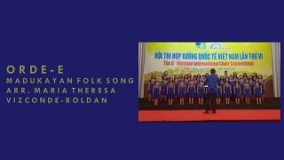 Orde-e – 6th Vietnam International Choir Competition