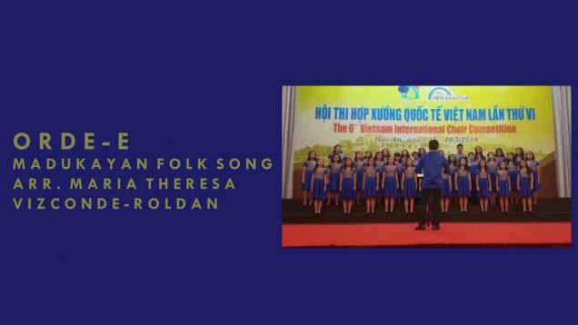 Orde-e – 6th Vietnam International Choir Competition