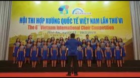 Santa Laurensia JHS Choir | 6th Vietnam International Choir Competition (Children's Choir)
