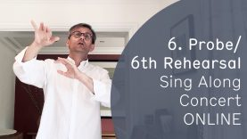 """Sing Along Concert ONLINE with Simon Halsey • Rehearsal No. 6: """"Selig sind die Toten"""""""